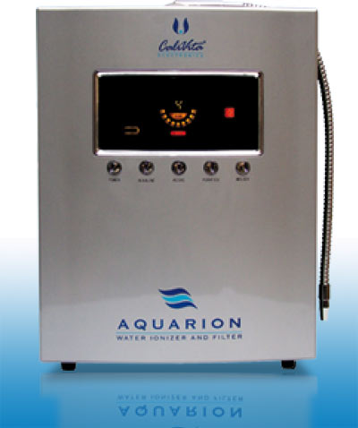 Aquarion is the most advanced water filter-ionizer